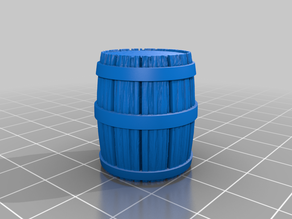 Barrel for tabletop gaming