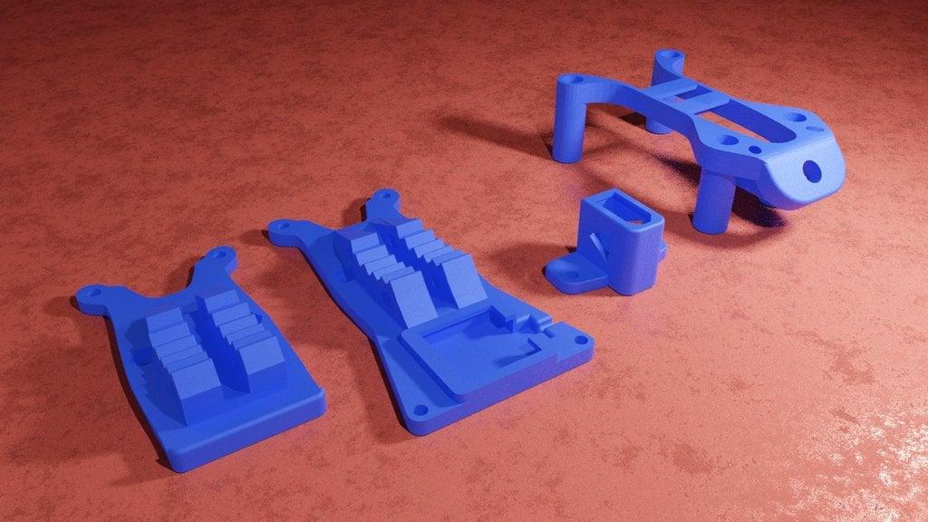 Flywoo Mr Croc TPU parts