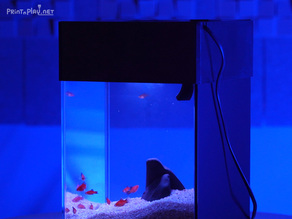 Simple all-in-one(AIO) fish tank aquarium cover v1.0 (for ABS)