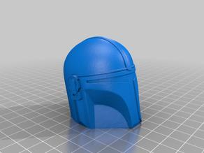 Mandalorian Helmet(Solid)