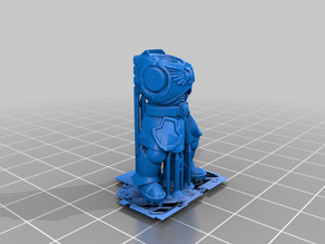 Knight Body Resin Supports (Works with FDM too)