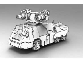 Battletech Fortune Wheeled Assault Vehicle