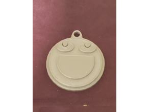 Smile More Keychain