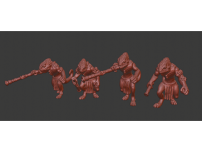 Chameleon Warrior Miniatures