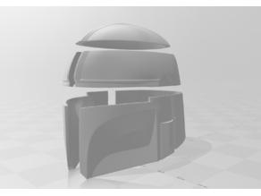 Mandalorian Helmet - Pieces fit Ender 3