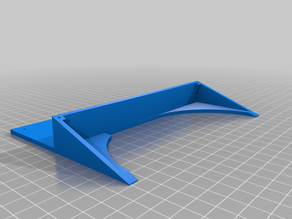 LCD 2004 Display Holder (e.g. Anet A8)