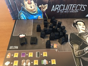 Architects of the West Kingdom Player Pieces