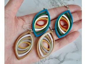 Recursive Infinity Earrings