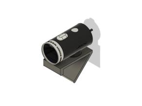 Display mount for Microsoft LifeCam HD
