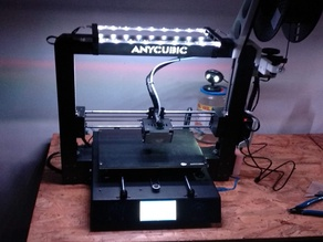 RGB Led light for Anycubic i3 Mega