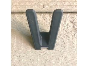 Minimally-Functional Shoe Hook