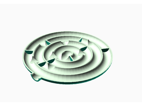 Puzzle - secret rolling ball maze
