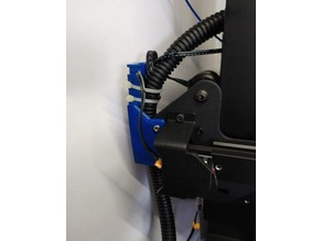 Cable holder with clamp