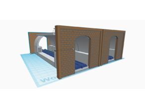 N-Scale Tube Tunnel