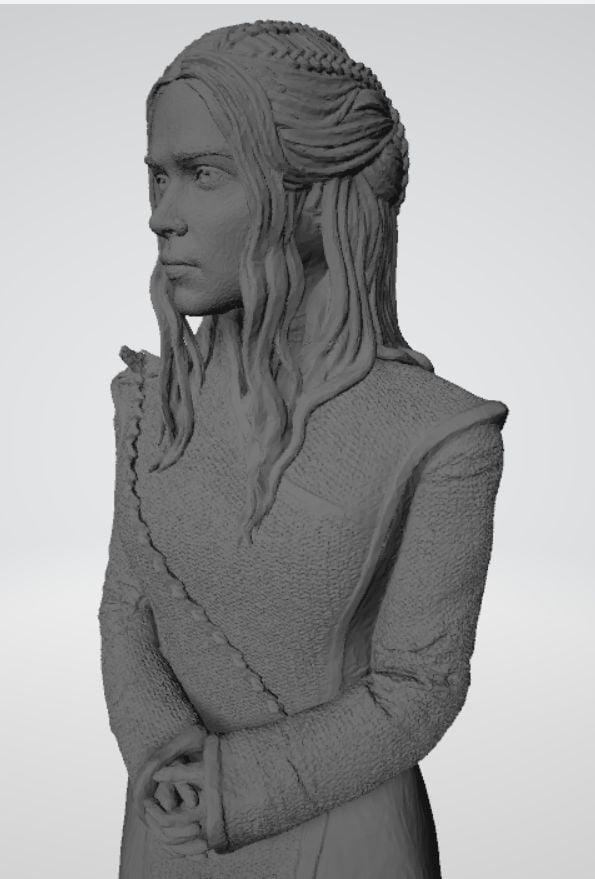 Daenerys Targaryen Game Of Thrones Sculpture New