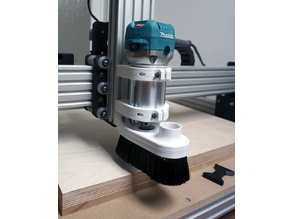 Makita Router Dust Shoe for WorkBee CNC