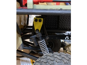 scx10 honcho 20mm suspension lift & front shock relocation