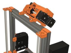 MMU2 Frame Holder for Bear Full Upgrade