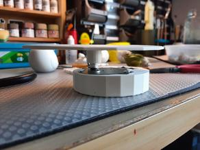 Lazy Susan Rotary Table Stand (with Microwave motor)