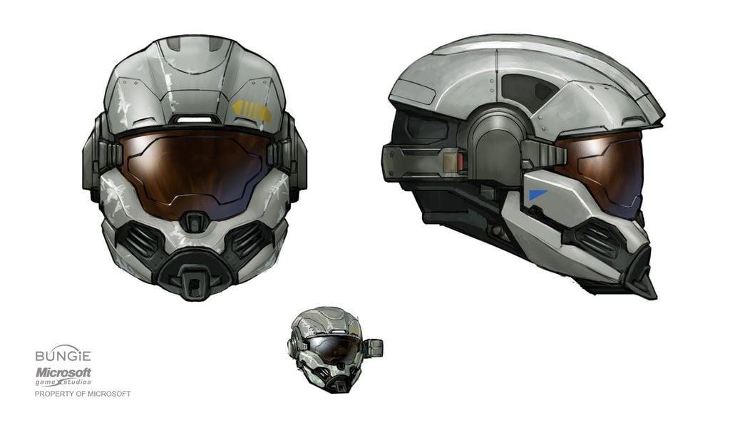 Halo Reach - HAZOP Helmet and Shoulder