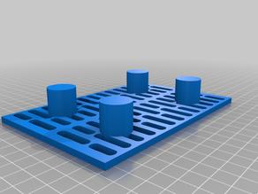 Dessicant box floor 100mm x 150mm x 22.5mm