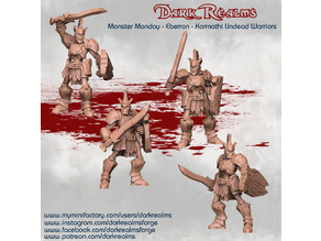 Monster Monday - Eberron - Karrnathi Undead Warriors