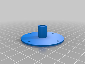 DIY 3d printed motorized turntable from IKEA Snudda