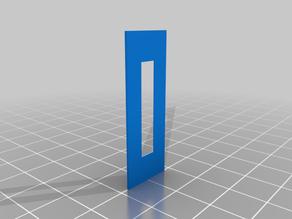 Cerambot delta printer 65° fixup wedges