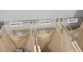 Laundry Organizer Tags