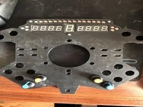 SLI F1 Addon Sim Racing 320mm Wheel Button Plate
