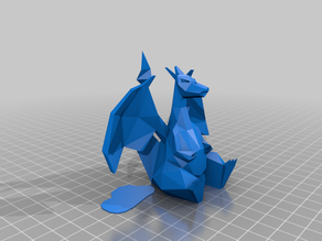 Charizard Low-Poly Pokemon