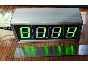 Case for DIY electronic clock