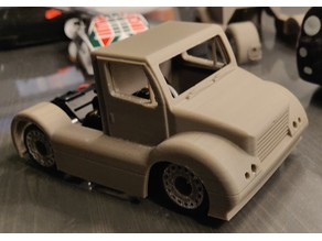 Mini Z Racing Truck Body