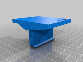 AM8 MGN12H X-carriage for direct extruder with BMG clone + fan mount