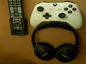 Xbox Controller, Headphone, Remote Holder