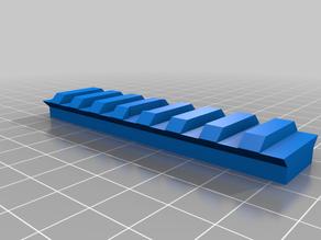 Picatinny Rail (RIS 22mm) to Tripod mount