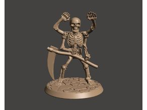 Thassaloss - Bone Golem - 28mm Fighting Fantasy Figure