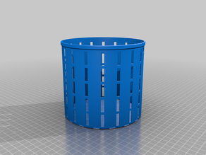Resin Prints Drain Basket Cylinder