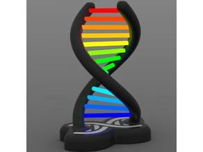 RGB DOUBLE HELIX LAMP - easyprint