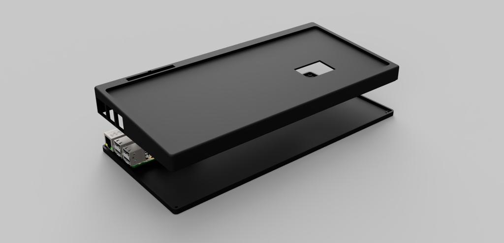 Case Keyboard Bluethooth For Raspberry Pi 3