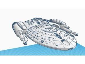 Star Trek Voyager Intrepid Class Gunship