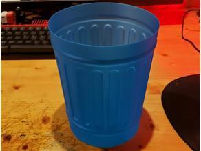 Vase Mode Trash Can