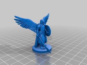 Pa'ratxi warrior (parrot aarakocra)