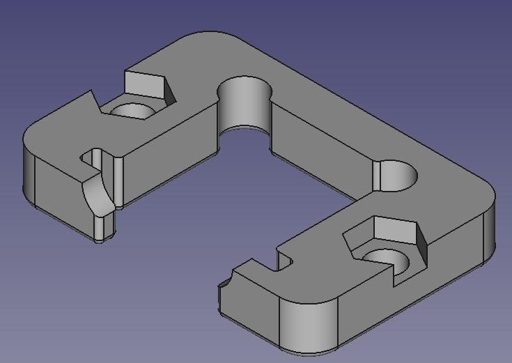 Ethernet panel socket holder plate