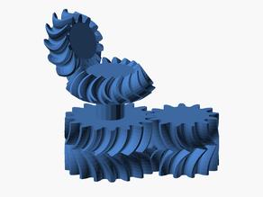PolyGear OpenSCAD Gear Library