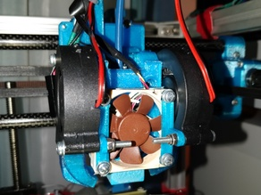 Hypercube dual blower fan mount add-on