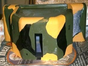 Bunkr řopík A160 detail