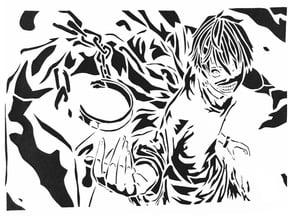 Tokyo Ghoul stencil