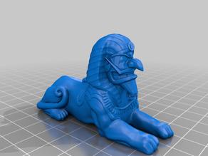 The Great Sphinx of Waluigi
