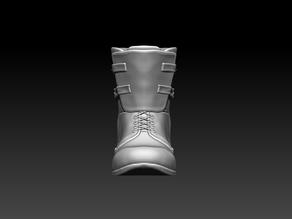 Men's Military Boots, STL File